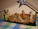 Nativity creche made 40 years ago and which we still use today....