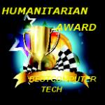 Humanitarian and computer tech award