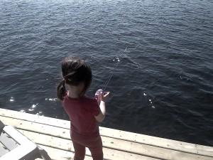 Rylee fishing April 2012