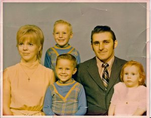 Family picture taken over 40 years ago