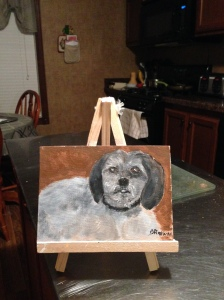 2nd attempt at our doggie Koko