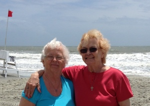 My sister and I in Myrtle Beach