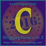 A-Z. letter C