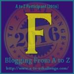 A-Z. letter F